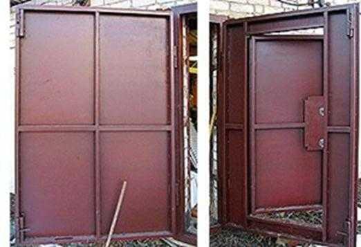 технология сварки гаражных ворот